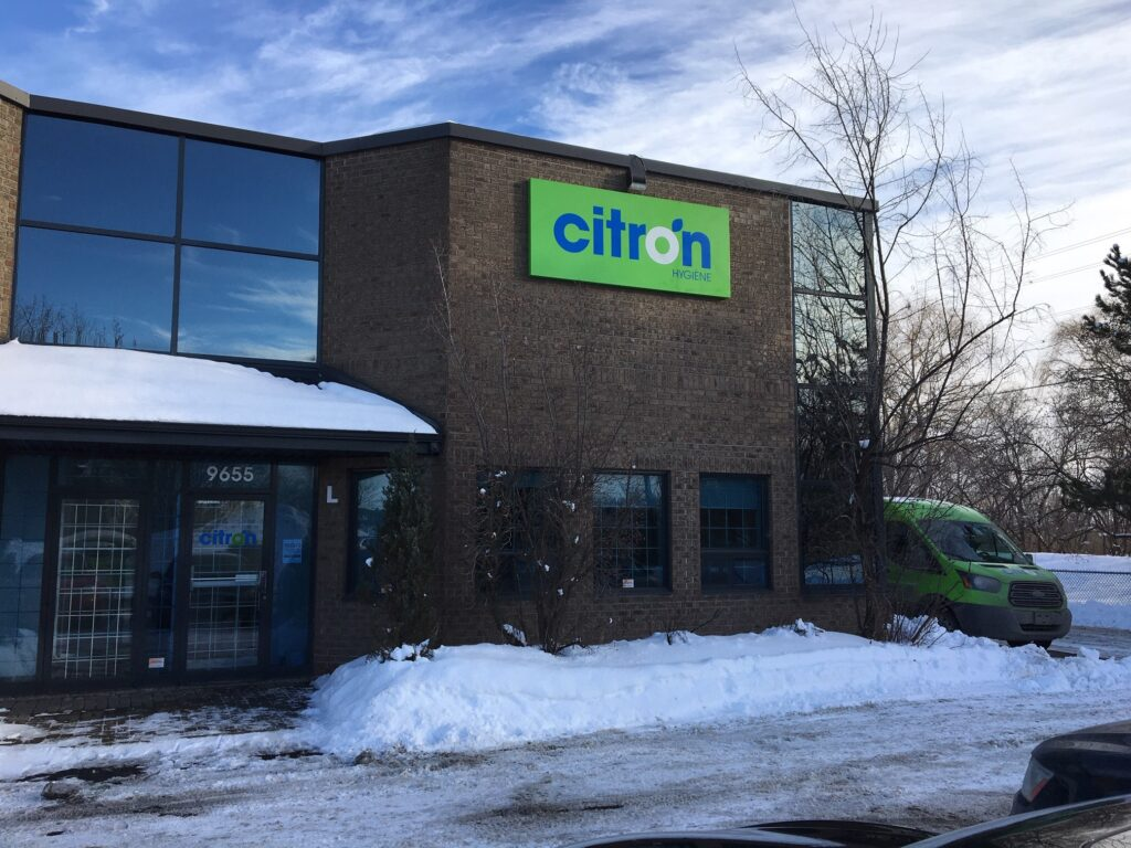 Citron Hygiene offices in Montreal