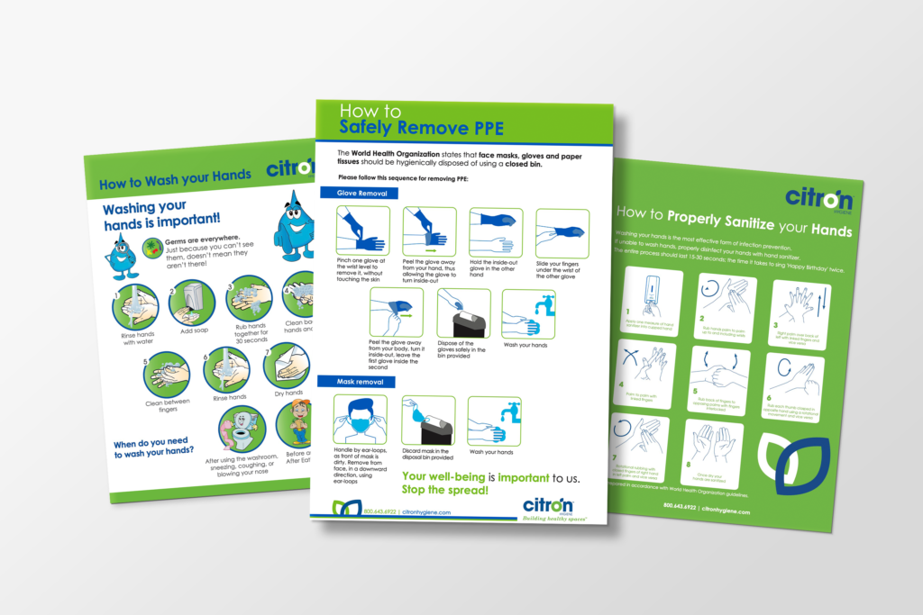 hygiene posters and resources