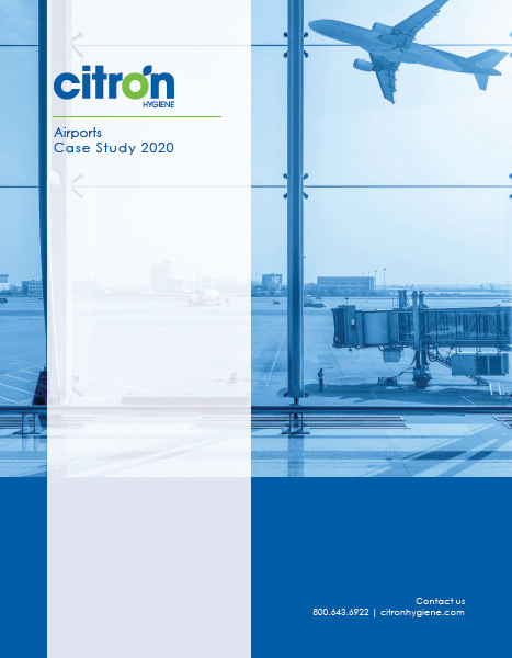 Airports report case study 2020 front cover