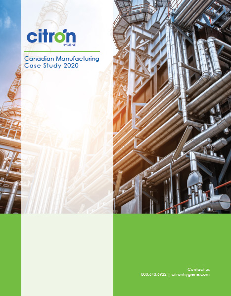 Canadian Manufacturing Case Study 2020 front cover