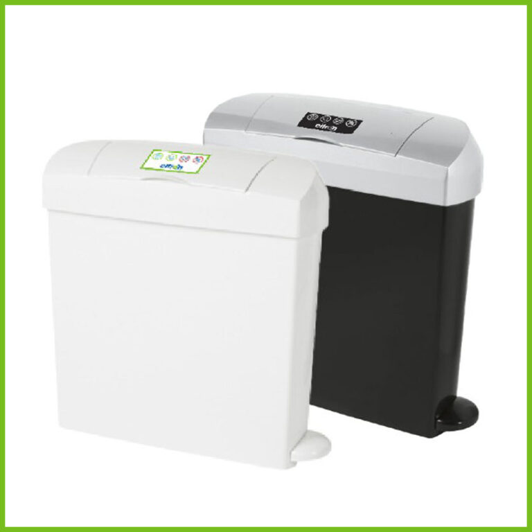 Citron disposal units in white and black