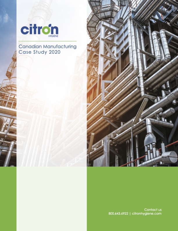 Canadian Manufacturing Case Study Front Cover