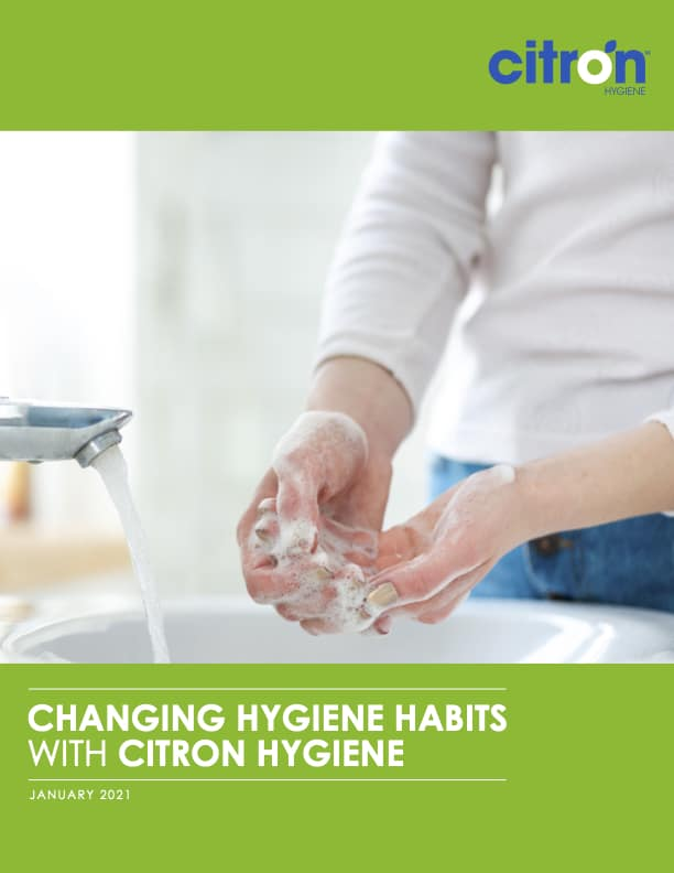 Changing Hygiene Habits with Citron Hygiene Survey Report Front Cover