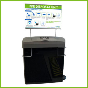 PPE Disposal Essentia Unit with Stand