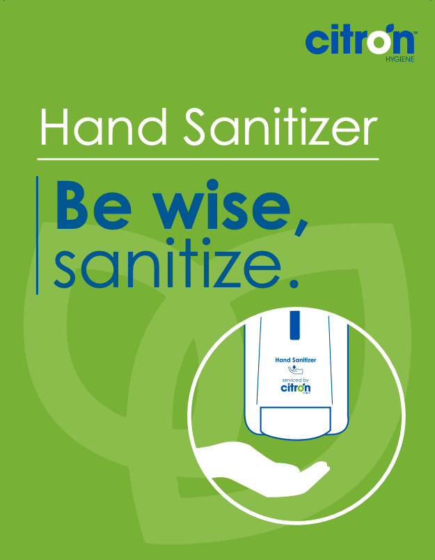 please use hand sanitizer display poster