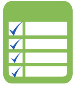 planning checklist to get back to work