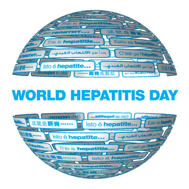 World Hepatitis Day Logo 2020