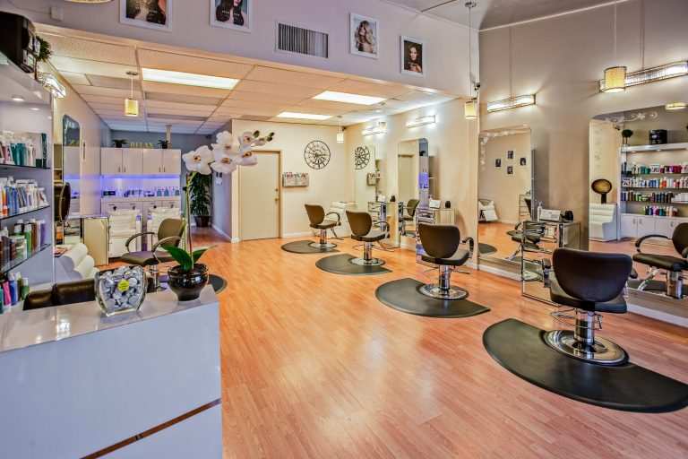 Picture of a hair and nail salon
