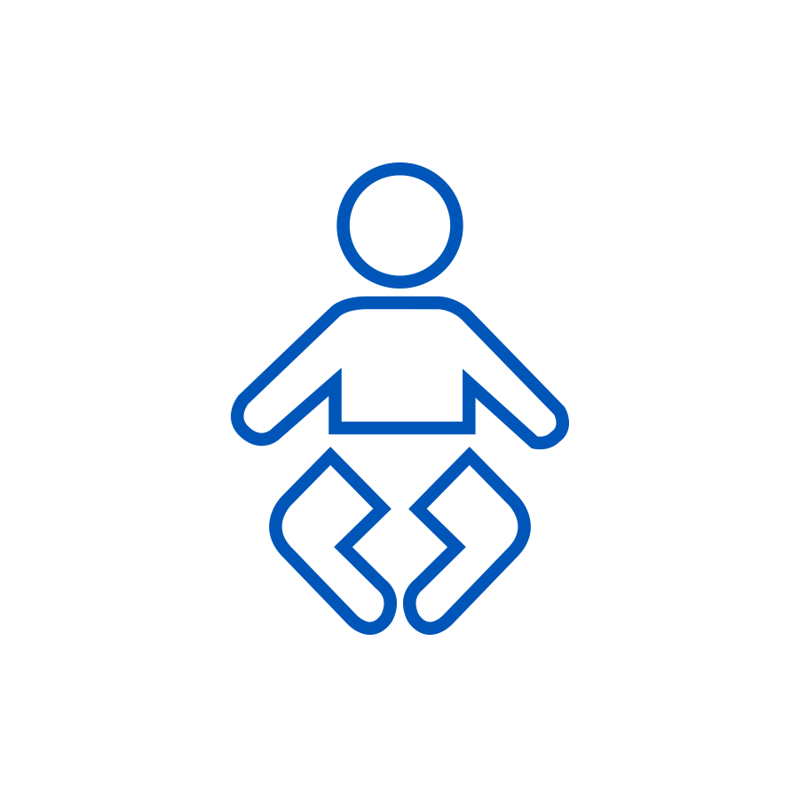 Infant care icon